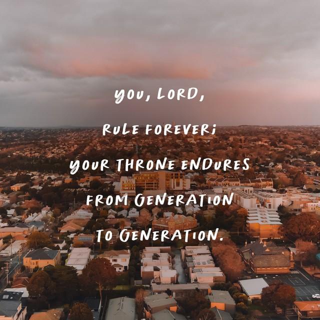Lamentations 5:19