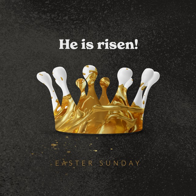 Gold Easter