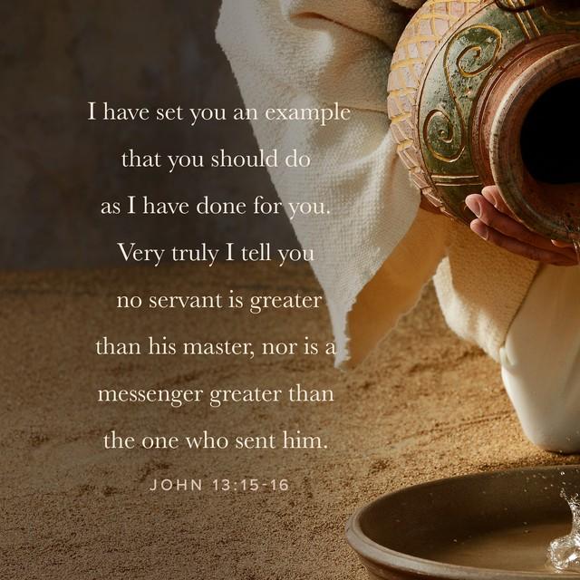 John 13:15-16 Alt