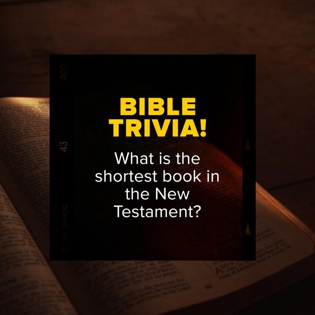Bible Trivia 2